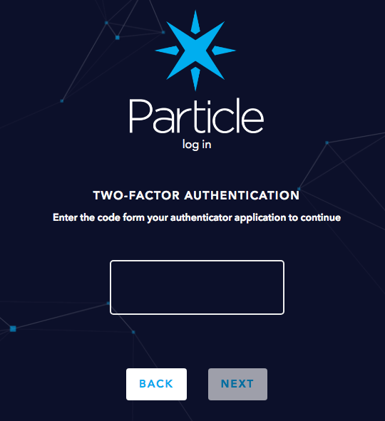 Particle Tutorials | Two-Step Authentication