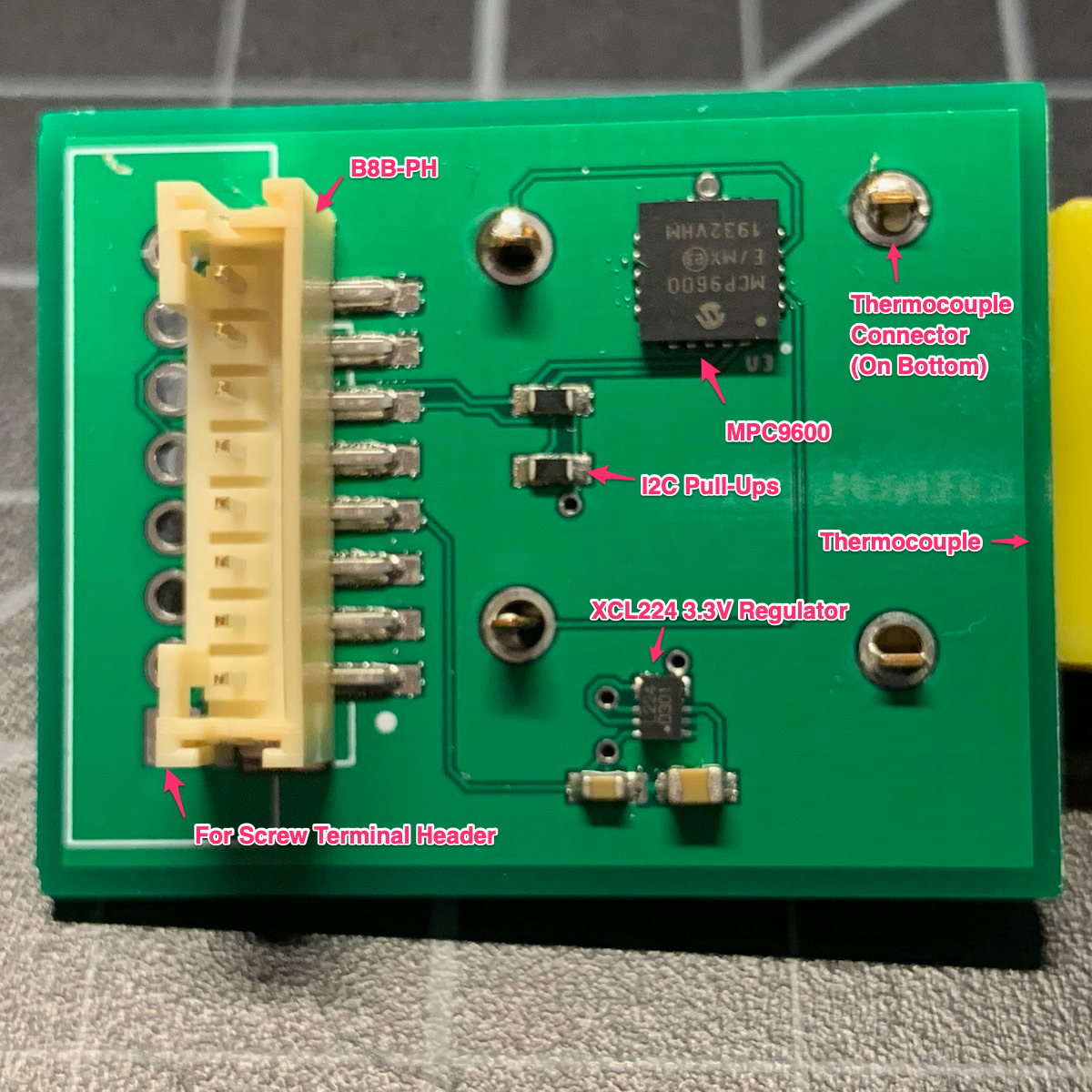 Thermocouple Board
