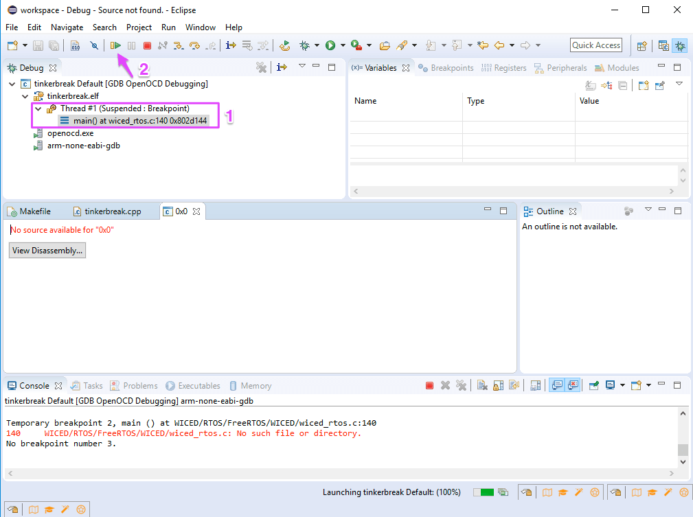 Particle Support   Debugging with Eclipse