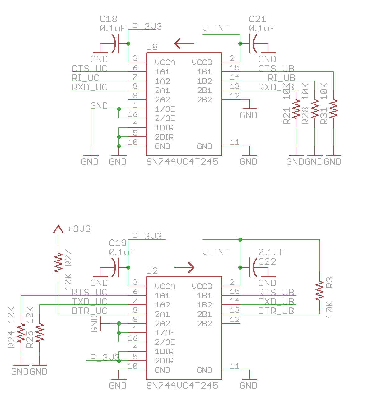 Particle Datasheets Electron Datasheet Circuit Diagram U Since Blox Modules Communication Interface Operates At 18vdc While The Stm32f205rgt6 Microcontroller 33vdc We Need Voltage Translators