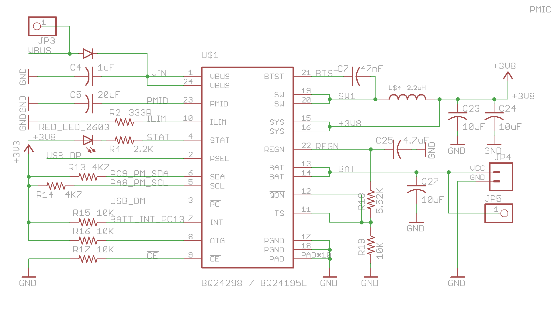 Particle Datasheets Electron Datasheet 4 Pin Power Connector Wiring Diagram The Uses Tis Bq24195 As Management And Charging Unit This Pmic Intelligently Sources From Either Vin Usb Port Or