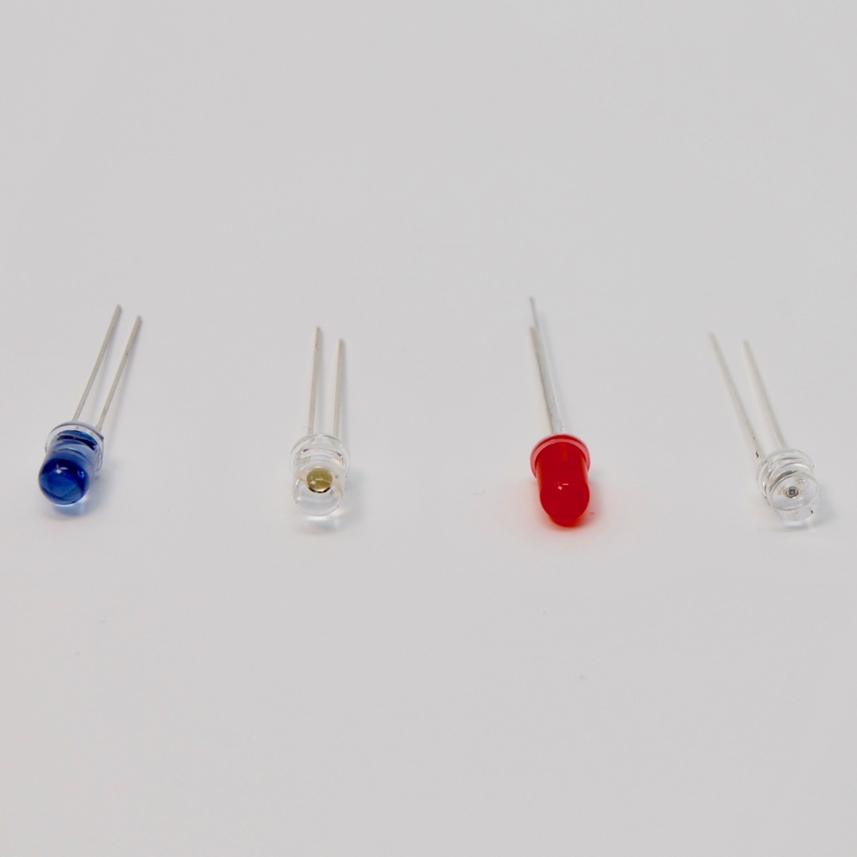 Particle Tutorials Hardware Examples Howtoidentifycircuitsymbolslightemittingdiode Depending On The Kit You Have May One Or More Of Items Above Left To Right Ir Infrared Led