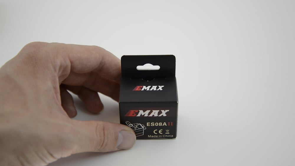 Emax ES08A II Servo from the Particle Maker Kit