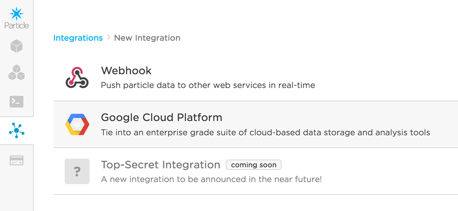 Particle Tutorials | Google Cloud Platform