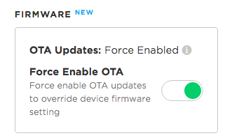 Force Enable Updates