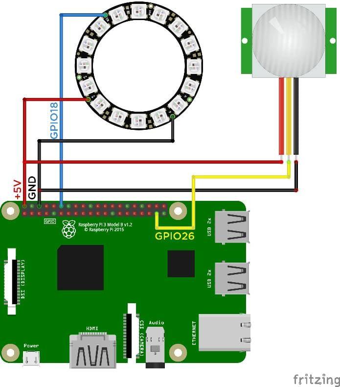 Fein Pir Sensor Schaltplan Zeitgenössisch - Elektrische Schaltplan ...