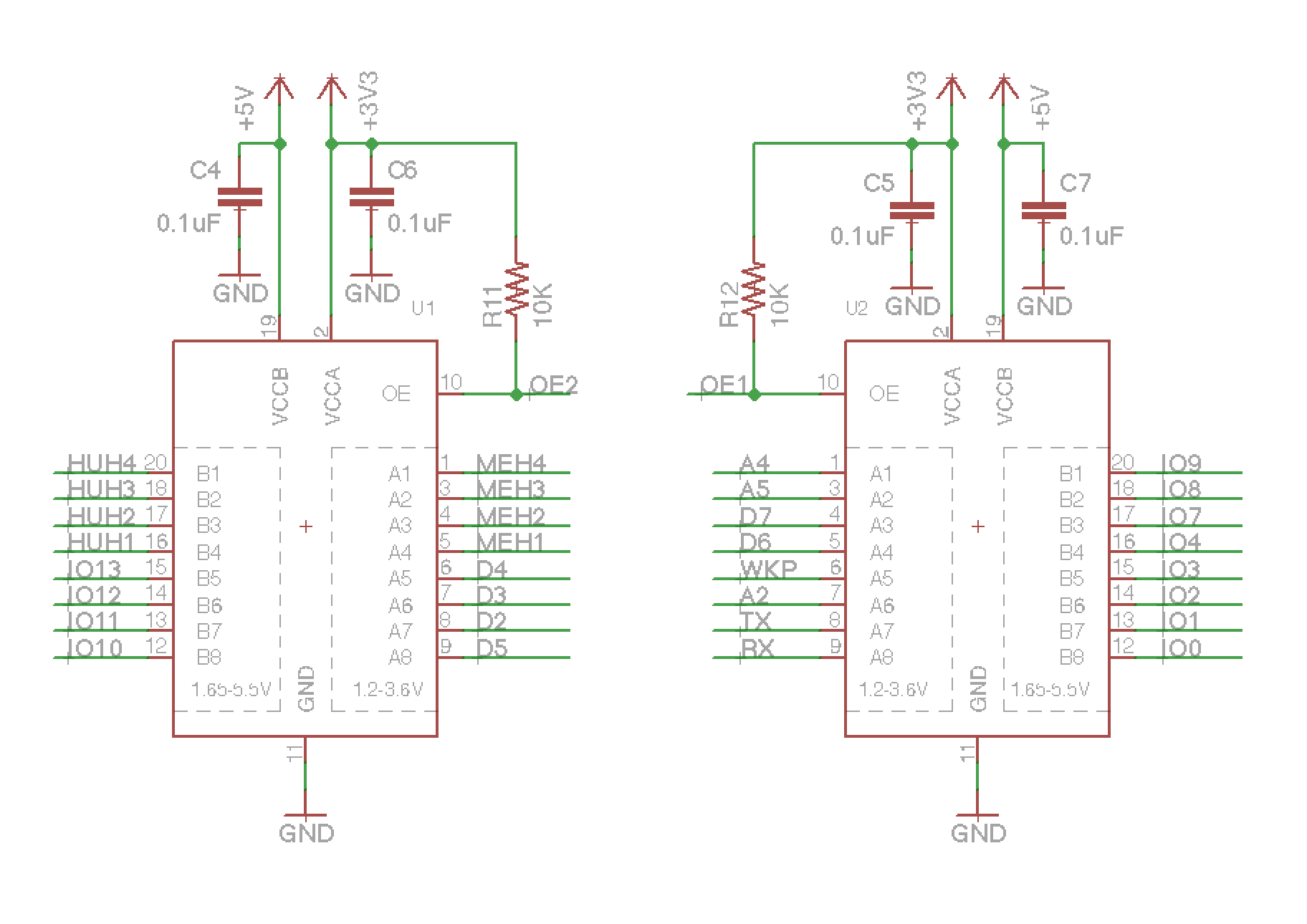Particle Datasheets Legacy Accessories Leds Temperature Indicator Circuit Diagram Shield Schematic Txb0108pwr